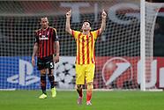 Fussball Champions League 2013/2014: AC Mailand - FC Barcelona