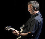 Eric Clapton performs in a concert at the Staples Center in Los Angeles on March 14, 2007. (John McCoy/Staff Photographer)