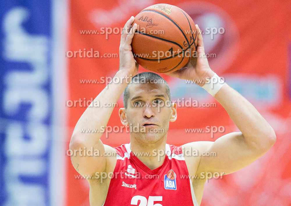 Dragisa Drobnjak of Tajfun during basketball match between KK Tajfun and KK Union Olimpija Ljubljana in 9th Round of ABA League 2015/16, on November 8, 2015 in Arena Golovec, Celje, Slovenia. Photo by Vid Ponikvar / Sportida