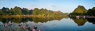 Vietnam Iamges- Panoramic landscape-Chua Huong- Ha Noi