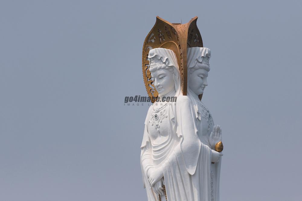 Aloha Round Hainan Regatta<br /> Buddha of Sanya, Hainan Island, 3rh highest statue of the world with 108m