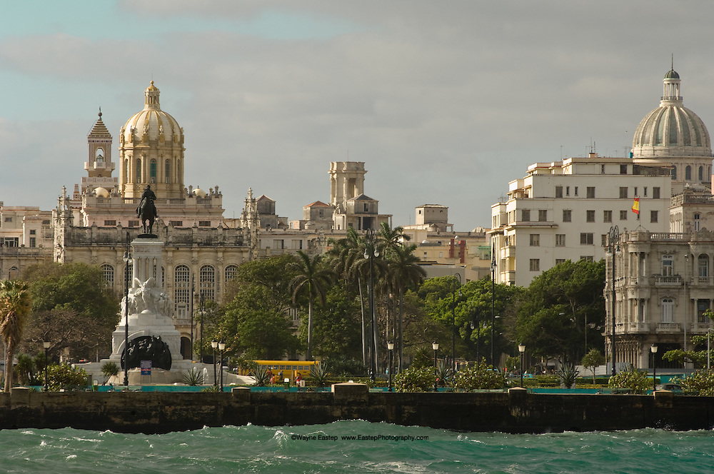 Today Central Havana along the Malacon Blvd is busy with the business of tourisim.