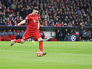 Niklas Süle of Bayern Munich during the Champions League round of 16, leg 2 of 2 match between Bayern Munich and Liverpool at the Allianz Arena stadium, Munich, Germany on 13 March 2019.