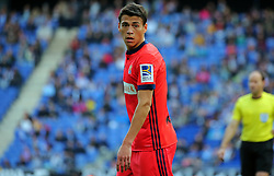 March 11, 2018 - Barcelona, Catalonia, Spain - Hector Moreno during the match between RCD Espanyol and Real Sociedad, for the round 28 of the Liga Santander, played at the RCD Espanyol Stadium on 11th March 2018 in Barcelona, Spain. (Credit Image: © Joan Valls/NurPhoto via ZUMA Press)