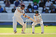 Chris Rogers of Somerset batting during the Specsavers County Champ Div 1 match between Somerset County Cricket Club and Nottinghamshire County Cricket Club at the Cooper Associates County Ground, Taunton, United Kingdom on 22 September 2016. Photo by Graham Hunt.