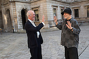 CHARLES SAUMARAZ SMITH; RON ARAD, Royal Academy Annual dinner, Piccadilly, London. 6 June 2016