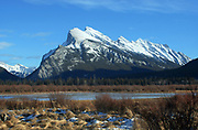 Vermillion Lakes and Mount Rundle, Banff National Park   Photo: Peter Llewellyn