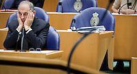 Nederland. Den Haag, 27 oktober 2010.<br /> De Tweede Kamer debatteert over de regeringsverklaring van het kabinet Rutte.<br /> PvdA fractievoorzitter Job Cohen<br /> Kabinet Rutte, regeringsverklaring, tweede kamer, politiek, democratie. regeerakkoord, gedoogsteun, minderheidskabinet, eerste kabinet Rutte, Rutte1, Rutte I, debat, parlement<br /> Foto Martijn Beekman