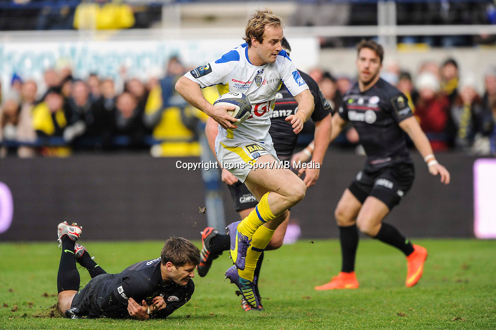 Nick ABENDANON - 25.01.2015 -  Clermont / Saracens - European Champions Cup <br />