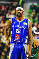 Darryl Watkins  - 29.11.2014 - Lyon Villeurbanne / Chalon Reims - 10e journee Pro A<br /> Photo : Jean Paul Thomas / Icon Sport