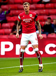 Aden Flint of Bristol City - Mandatory by-line: Robbie Stephenson/JMP - 22/08/2017 - FOOTBALL - Vicarage Road - Watford, England - Watford v Bristol City - Carabao Cup