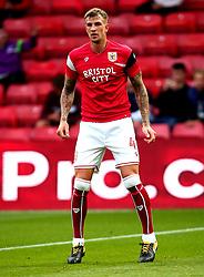 Aden Flint of Bristol City - Mandatory by-line: Robbie Stephenson/JMP - 22/08/2017 - FOOTBALL - Vicarage Road - Watford, England - Watford v Bristol City - Carabao Cup