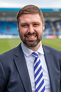 The new Gillingham CEO (Chief Executive Officer) Tom Lawrence before the EFL Sky Bet League 1 match between Gillingham and Scunthorpe United at the MEMS Priestfield Stadium, Gillingham, England on 16 February 2019.