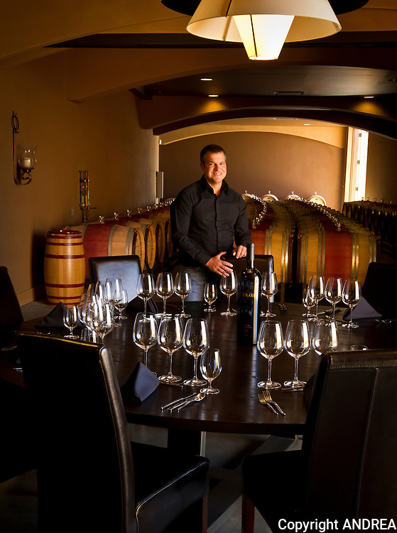 Winemaker Marcus Notaro, Cole Solare, Red Mountain AVA, eastern Washington