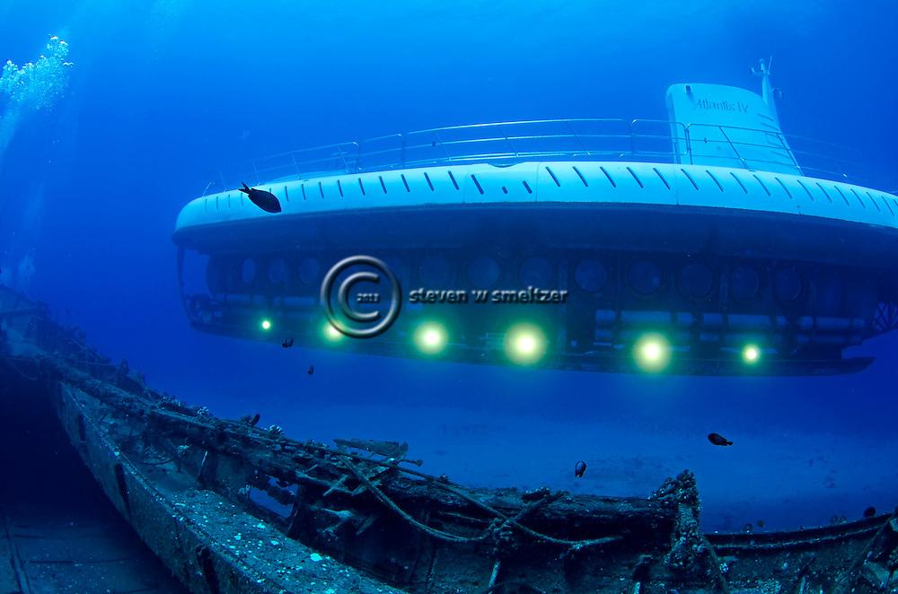 Atlantis Submarine, Wide Angel, Carthaginian II, Maui Hawaii