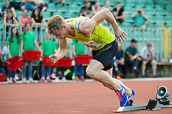 Luka Janezic of Slovenia competes at 400m Men during 20th European Athletics Classic Meeting in Honour of Miners' Day in Velenje on July 1, 2015 in Stadium Velenje, Slovenia. Photo by Vid Ponikvar / Sportida