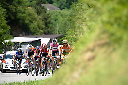 Mara Abbott leads the chase of Niewiadoma at Giro Rosa 2016 - Stage 6. A 118.6 km road race from Andora to Alassio, Italy on July 7th 2016.