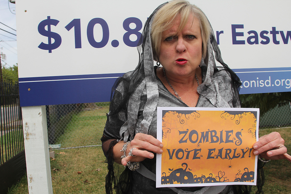 Vote Early Zombie at Eastwood Academy