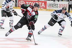 19.10.2014, LANXESS Arena, Köln, GER, DEL, Kölner Haie vs ERC Ingolstadt, 12. Runde, im Bild Andreas Falk (Koelner Haie), Koelner Haie - ERC Ingolstadt am 19.10.2014 in der Lanxess-Arena in Koeln (Nordrhein-Westfalen). // during Germans DEL Icehockey League 12 th round match between Cologne Haie and ERC Ingolstadt at the LANXESS Arena in Köln, Germany on 2014/10/19. EXPA Pictures © 2014, PhotoCredit: EXPA/ Eibner-Pressefoto/ Kohring_Fuss<br /> <br /> *****ATTENTION - OUT of GER*****