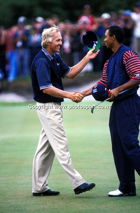 Golf, Presidents Cup 1998, US vs International teams, Australia.<br />