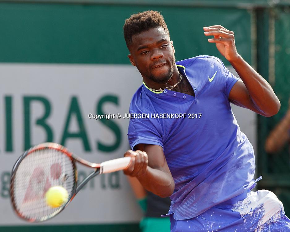 FRANCES TIAFOE (USA)<br /> <br /> Tennis - French Open 2017 - Grand Slam ATP / WTA -  Roland Garros - Paris -  - France  - 29 May 2017.
