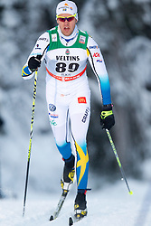 30.11.2014, Nordic Arena, Ruka, FIN, FIS Weltcup Langlauf, Kuusamo, 15 km Herren, im Bild Jesper Modin (SWE) // Jesper Modin of Sweden during Mens 15 km Cross Country Race of FIS Nordic Combined World Cup at the Nordic Arena in Ruka, Finland on 2014/11/30. EXPA Pictures © 2014, PhotoCredit: EXPA/ JFK