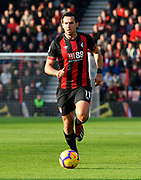 Charlie Daniels (11) of AFC Bournemouth during the Premier League match between Bournemouth and Arsenal at the Vitality Stadium, Bournemouth, England on 25 November 2018.