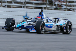June 9, 2018 - Fort Worth, Texas, U.S - Rahal Letterman Lanigan Racing driver Takuma Sato (30) of Japan in action during the DXC Technology 600 race at Texas Motor Speedway in Fort Worth,Texas. (Credit Image: © Dan Wozniak via ZUMA Wire)