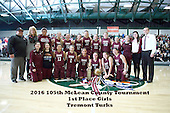 20160123 MCT Girls 1st place - Tremont v Le Roy
