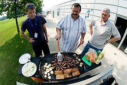 Chef at SportForum picnic during BeachMaster 2010 on July 17, 2010, in Ptuj, Slovenia. (Photo by Matic Klansek Velej / Sportida)