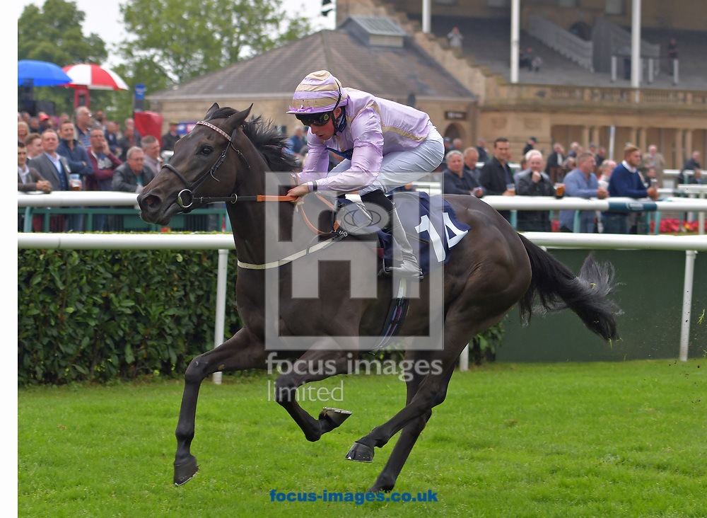 Flood Defence ridden by William Buick wins 188bet Handicap stakes at the 188 Bet Summer Afternoon meeting at Doncaster Racecourse, Doncaster<br /> Picture by Martin Lynch/Focus Images Ltd 07501333150<br /> 30/06/2017