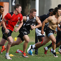 DURBAN, SOUTH AFRICA Monday 29th June 2015 - General views during the Cell C Sharks Conditioning training session at Growthpoint Kings Par in Durban, South Africa. (Photo by Steve Haag)