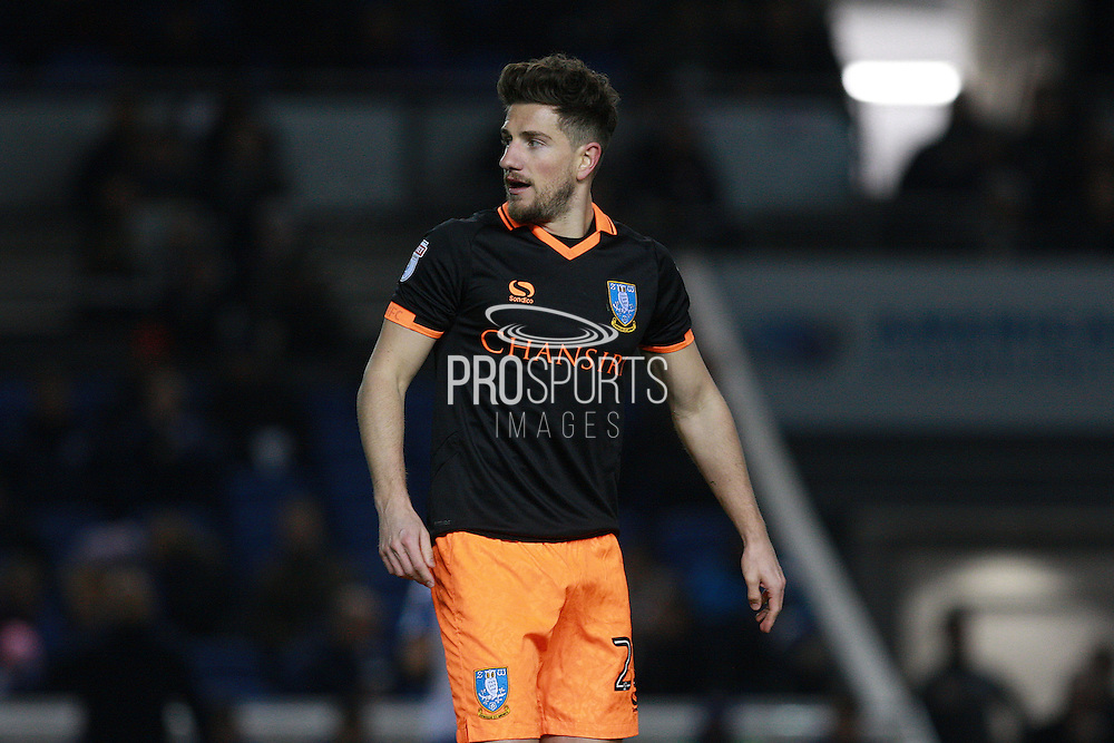 Sheffield Wednesday defender Sam Hutchinson (23) during the EFL Sky Bet Championship match between Brighton and Hove Albion and Sheffield Wednesday at the American Express Community Stadium, Brighton and Hove, England on 20 January 2017. Photo by Bennett Dean.