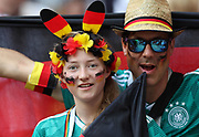 MOSCOW, RUSSIA - JUNE 17:  fans of Germany look on during the 2018 FIFA World Cup Russia group F match between Germany and Mexico at Luzhniki Stadium on June 17, 2018 in Moscow, Russia. , <br /> Football World Cup Russia 2018 - Germany vs Mexico 0:1, <br /> Football World Cup match in MOSCOW on June 17th 2018, Fussball-WM in Moskau, Deutschland - Mexiko, <br /> Honorarpflichtiges Foto, Fee liable image, Copyright &copy; ATP Amin JAMALI