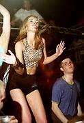 Girl dancing, Oscars Clacton. 1997.