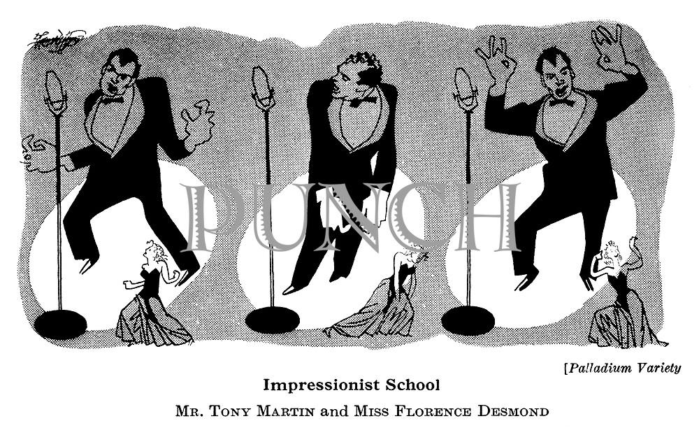 At The Play : Palladium ; <br /> Tony Martin
