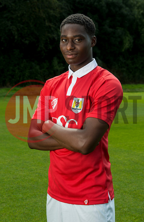 Bristol City's Jordan Wynter - Photo mandatory by-line: Joe Meredith/JMP - Mobile: 07966 386802 05/08/2014 - SPORT - FOOTBALL - Bristol - Ashton Gate - Press Day