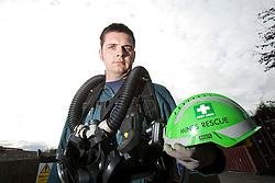 Aiden Henderson. Mine Rescue Service at Crossgates Training Centre, Crossgates, Fife..Pic © Michael Schofield.