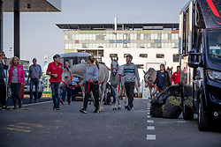 Departure of the Horse for the WEG in Tryon<br /> Departure horses from Liege Airport<br /> FEI World Equestrian Games™ Tryon 2018<br /> © Hippo Foto - Dirk Caremans<br /> 01/09/2018
