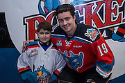 KELOWNA, CANADA - NOVEMBER 26:  Pepsi Player of the game with Dillon Dube #19 of the Kelowna Rockets at the Kelowna Rockets game on November 26, 2016 at Prospera Place in Kelowna, British Columbia, Canada.  (Photo By Cindy Rogers/Nyasa Photography,  *** Local Caption ***