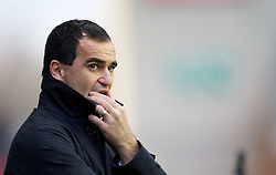 03.12.2011, DW Stadium, Wigan, ENG, Premier League, Wigan Athletic vs FC Arsenal, 14. Spieltag, im Bild Wigan Athletic's manager Roberto Martinez // during the football match of english Premier League, 14th round between Wigan Athletic an FC Arsenal at DW Stadium, Wigan, ENG on 2011/12/03. EXPA Pictures © 2011, PhotoCredit: EXPA/ Sportida/ David Rawcliff..***** ATTENTION - OUT OF ENG, GBR, UK *****