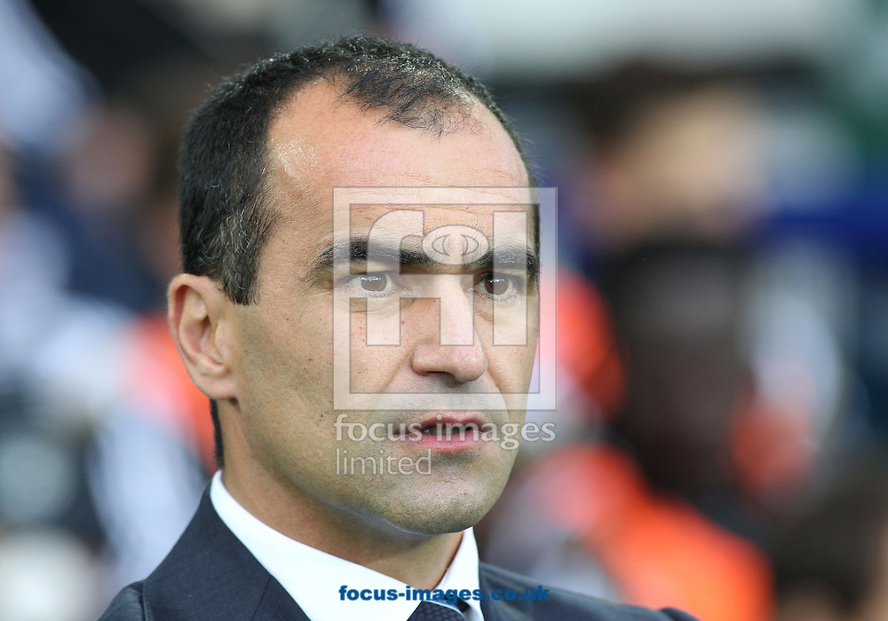 Roberto Martinez, manager of Everton prior to the Barclays Premier League match against Swansea City at Goodison Park, Liverpool.<br /> Picture by Michael Sedgwick/Focus Images Ltd +44 7900 363072<br /> 01/11/2014