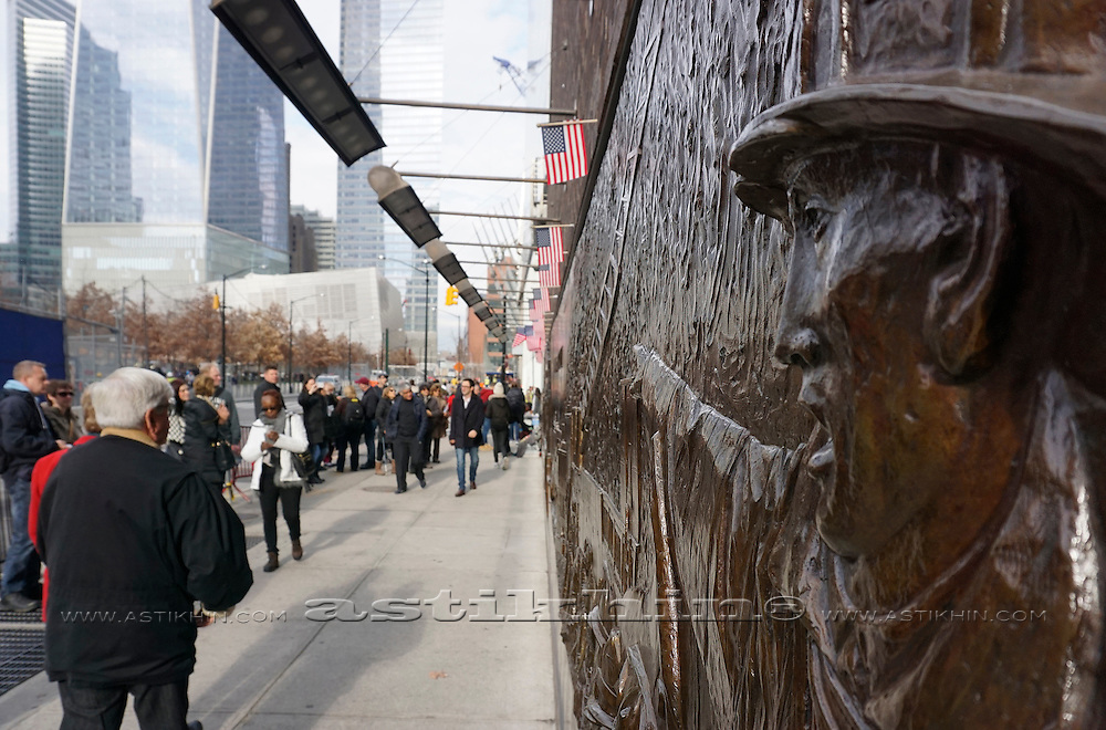 Ground Zero Memorial, 2014. New York City.