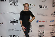 Actress Kelly Rutherford at Nolcha Fashion Week New York Fall-Winter 2014. Nolcha Fashion Week New York is a leading award winning event, held during New York Fashion Week, for independent fashion designers to showcase their collections to a global audience of press, retailers, stylists and industry influencers. Over the past six years Nolcha Fashion Week: New York has established itself as a platform of discovery promoting innovative fashion designers through runway shows and exhibition. Nolcha Fashion Week: New York has built an acclaimed reputation as a hot incubator of new fashion design talent and is officially listed by New York City Economic Development Corporation; offering a range of cost effective options to increase designers recognition and develop their business. (Photo: www.JeffreyHolmes.com)