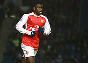 Arsenal striker Stephy Mavididi during the Barclays U21 Premier League match between Brighton U21 and Arsenal U21 at the American Express Community Stadium, Brighton and Hove, England on 30 November 2015. Photo by Bennett Dean.