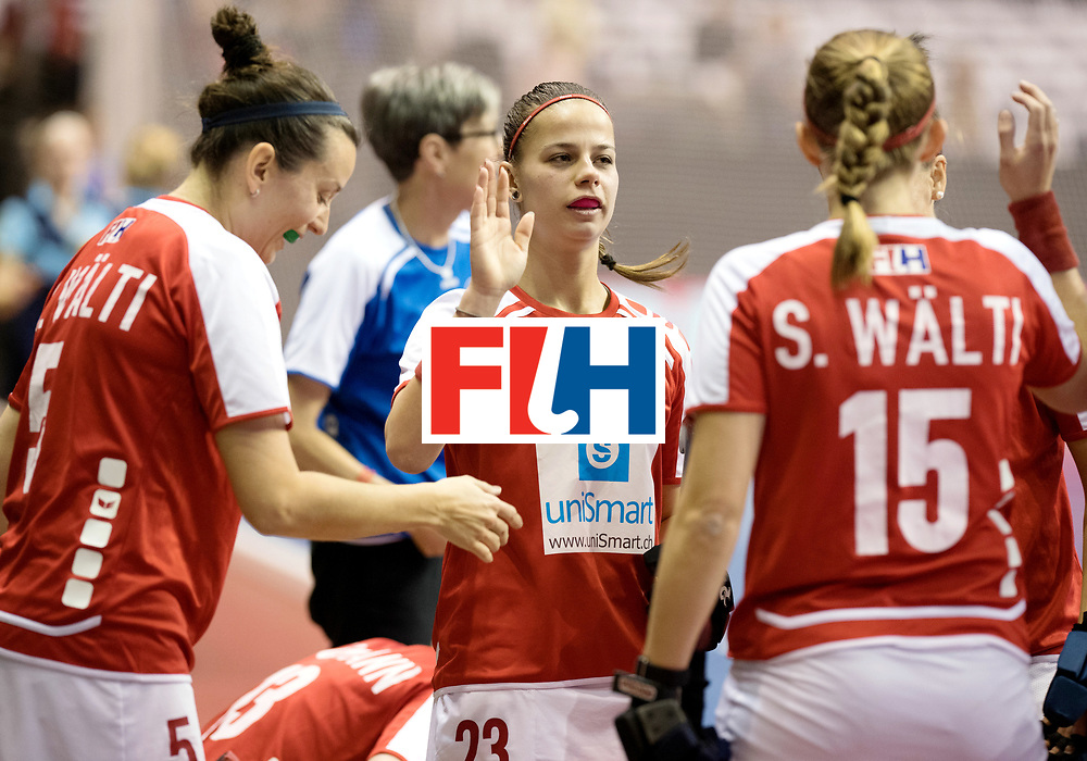 BERLIN - Indoor Hockey World Cup<br /> Quarterfinal 2: Ukraine - Switzerland<br /> foto: TR&Ouml;SCH Tamara.<br /> WORLDSPORTPICS COPYRIGHT FRANK UIJLENBROEK