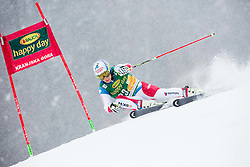 Gino Caviezel (SUI) competes during 1st Run of 10th Men's Giant Slalom race of FIS Alpine Ski World Cup 55th Vitranc Cup 2016, on March 5, 2016 in Kranjska Gora, Slovenia. Photo by Vid Ponikvar / Sportida