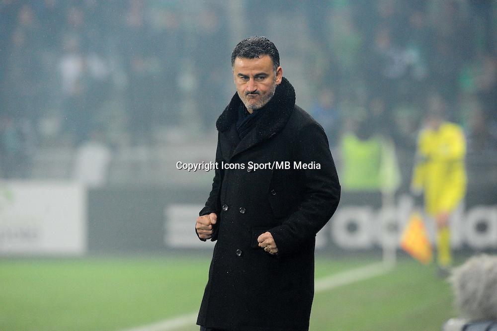 Christophe GALTIER - 05.12.2014 - Saint Etienne / Bastia - 17eme journee de Ligue 1 -<br />Photo : Jean Paul Thomas / Icon Sport