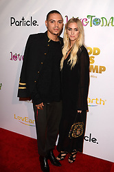 """Evan Ross, Ashlee Simpson, at the """"God VS Trump"""" Premiere, TCL Chinese 6, Hollywood, CA 11-07-16. EXPA Pictures © 2016, PhotoCredit: EXPA/ Avalon/ Martin Sloan<br /> <br /> *****ATTENTION - for AUT, SLO, CRO, SRB, BIH, MAZ, SUI only*****"""