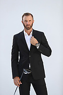 Dustin Johnson<br /> Fashion photoshoot for watch maker Hublot<br /> 17th July 2017<br /> Formby, Lancashire UK